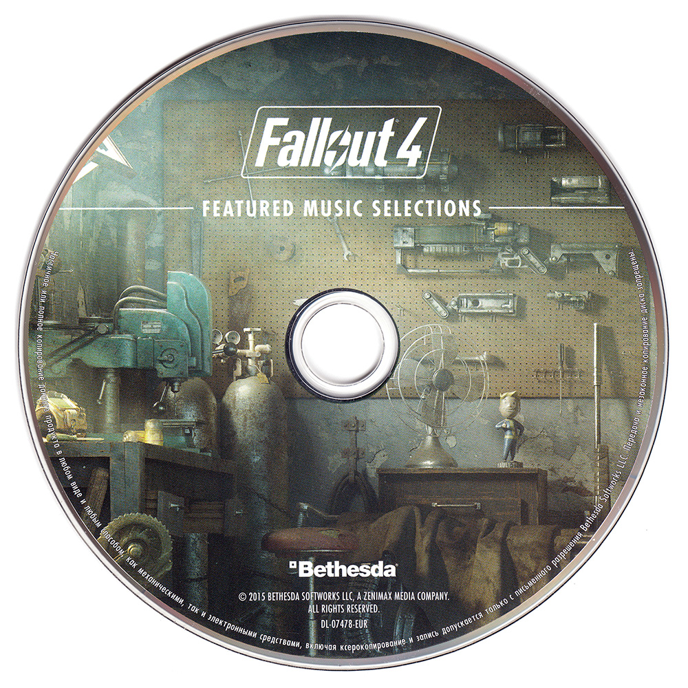 Fallout 4 Original Featured Music Selections Soundtrack