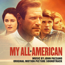 My All American Original Motion Picture Score. Передняя обложка. Click to zoom.