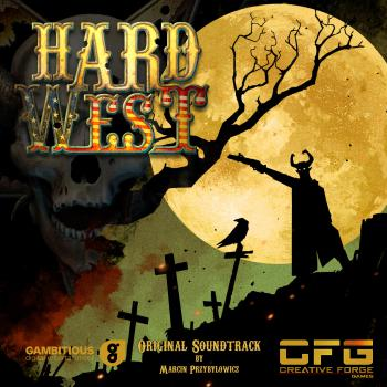 Hard West Original Soundtrack. Front. Click to zoom.