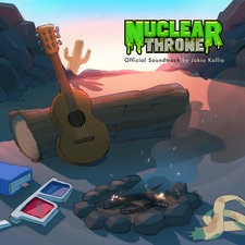 Nuclear Throne Official Soundtrack. Передняя обложка. Click to zoom.
