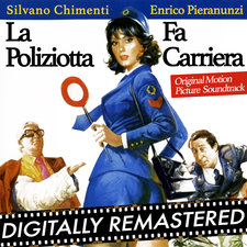 La Poliziotta Fa Carriera Original Motion Picture Soundtrack. Передняя обложка. Click to zoom.