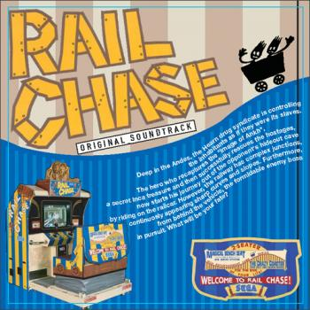 RAIL CHASE ORIGINAL SOUNDTRACK. Front. Click to zoom.