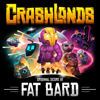 Crashlands Original Score. Front. Click to zoom.