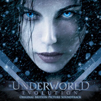 Underworld: Evolution Original Motion Picture Soundtrack. Передняя обложка. Click to zoom.