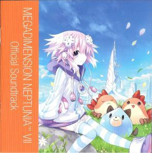 MEGADIMENSION NEPTUNIA VII Official Soundtrack. Буклет, перед . Click to zoom.