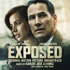 Exposed Original Motion Picture Soundtrack. Передняя обложка. Click to zoom.