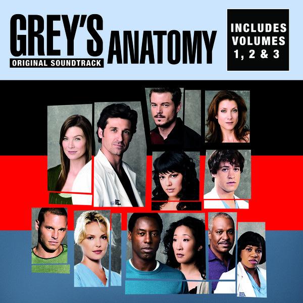 Grey's Anatomy, Vol. 1, 2 & 3 Original Soundtrack