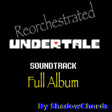 Undertale: Reorchestrated. Передняя обложка. Click to zoom.