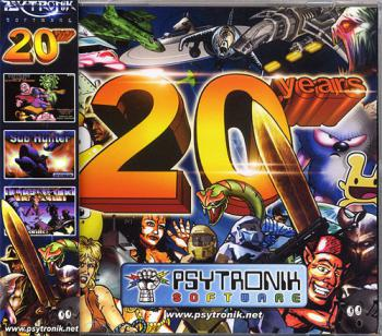 Psytronik Software - 20 Years. Front. Click to zoom.