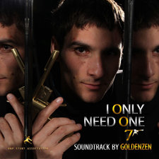 007: I Only Need One Official Soundtrack. Передняя обложка. Click to zoom.