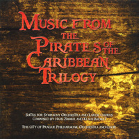 Music from the Pirates of the Caribbean Trilogy. Передняя обложка. Click to zoom.