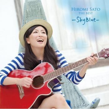 Hiromi Sato THE BEST -Blue Sky-. Front. Click to zoom.