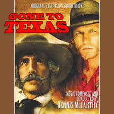 Gone to Texas Original Motion Picture Soundtrack. Передняя обложка. Click to zoom.