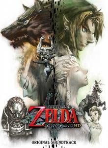 LEGEND OF ZELDA: Twilight Princess HD ORIGINAL SOUNDTRACK, THE. Front (small). Click to zoom.