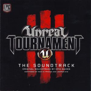 Unreal Tournament III Original Soundtrack. Лицевая сторона . Click to zoom.