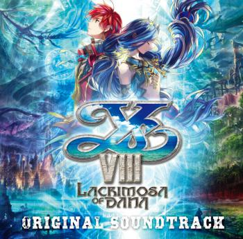 Ys VIII -Lacrimosa of DANA- Original Soundtrack. Front. Click to zoom.