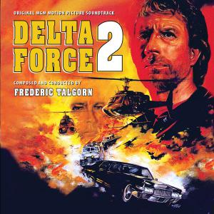 Delta Force 2 Original MGM Motion Picture Soundtrack. Лицевая сторона. Click to zoom.