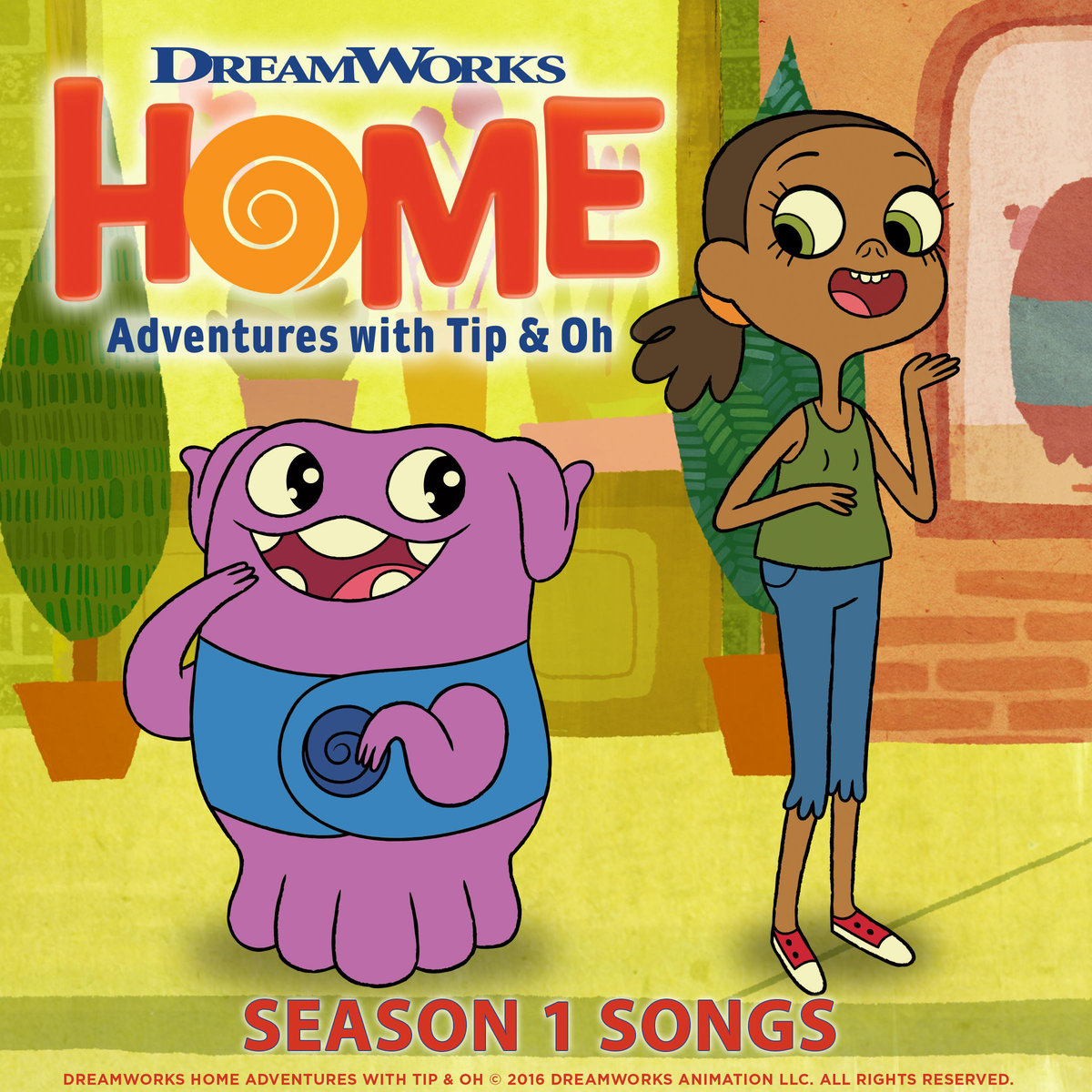 Home: Adventures with Tip & Oh Season 1 Songs