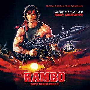 Rambo: First Blood Part II Original Motion Picture Soundtrack. Лицевая сторона. Click to zoom.