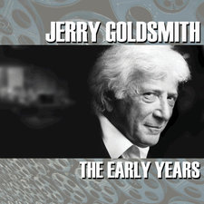 Jerry Goldsmith: The Early Years. Передняя обложка. Click to zoom.
