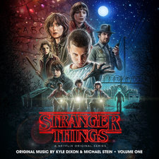 Stranger Things, Vol. 1 A Netflix Original Series Soundtrack. Передняя обложка. Click to zoom.
