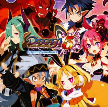 Disgaea 5: Alliance of Vengeance Original Soundtrack. Sleeve Front. Click to zoom.