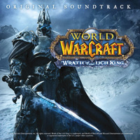 World of Warcraft: Wrath of the Lich King Original Game Soundtrack. Передняя обложка. Click to zoom.