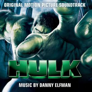 Hulk Original Motion Picture Soundtrack. Лицевая сторона. Click to zoom.