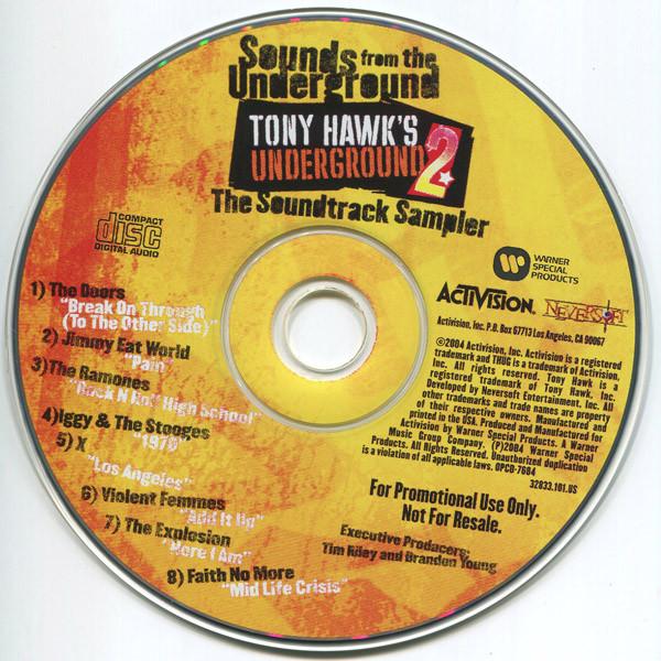 Sounds From The Underground Tony Hawk S Underground 2