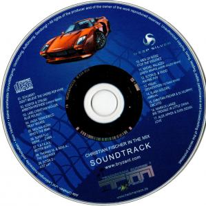 Trackmania Sunrise eXtreme - Christian Fischer in the Mix Soundtrack. Disc. Click to zoom.