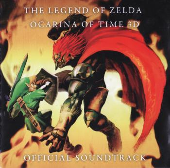 THE LEGEND OF ZELDA: OCARINA OF TIME 3D OFFICIAL SOUNDTRACK, The. Front. Click to zoom.