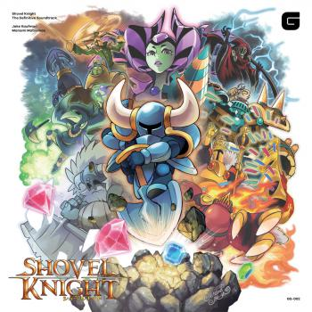 Shovel Knight The Definitive Soundtrack. Front. Click to zoom.