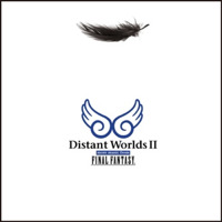 Distant Worlds II: more music from FINAL FANTASY. Передняя обложка. Click to zoom.