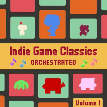 Indie Game Classics Orchestrated, Vol. 1. Front. Click to zoom.