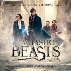 Fantastic Beasts and Where to Find Them Original Motion Picture Soundtrack. Передняя обложка. Click to zoom.