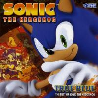 Sonic the Hedgehog, True Blue: The Best of. Передняя обложка. Click to zoom.
