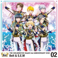 THE IDOLM@STER SideM 2nd ANNIVERSARY DISC 02 - Single, The. Передняя обложка. Click to zoom.