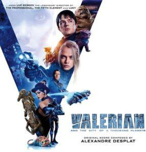 Valerian and the City of a Thousand Planets Original Motion Picture Soundtrack. Лицевая сторона. Click to zoom.