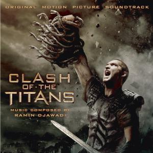 Clash of the Titans Original Motion Picture Soundtrack. Front. Click to zoom.