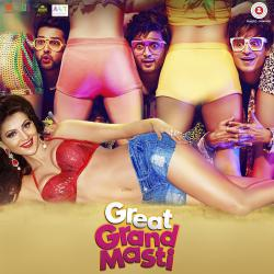 Great Grand Masti Original Motion Picture Soundtrack - EP. Передняя обложка. Click to zoom.