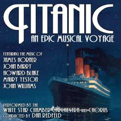 Titanic: An Epic Musical Voyage. Передняя обложка. Click to zoom.
