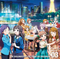 THE IDOLM@STER LIVE THE@TER DREAMERS 03 - EP, The. Передняя обложка. Click to zoom.