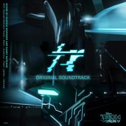 TRON Run/r Original Soundtrack. Передняя обложка. Click to zoom.