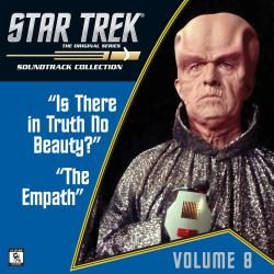 Star Trek: The Original Series 8: Is There in Truth No Beauty? / The Empath Television Soundtrack. Передняя обложка. Click to zoom.