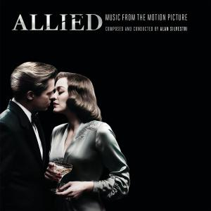 Allied Music from the Motion Picture. Лицевая сторона. Click to zoom.