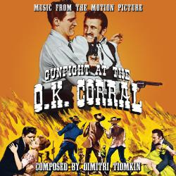 Gunfight at the O.K. Corral Original Motion Picture Soundtrack. Передняя обложка. Click to zoom.