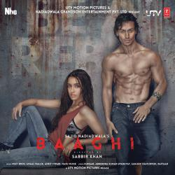 Baaghi Original Motion Picture Soundtrack - EP. Передняя обложка. Click to zoom.