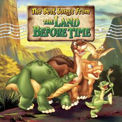 Best Songs From Land Before Time, The. Передняя обложка. Click to zoom.