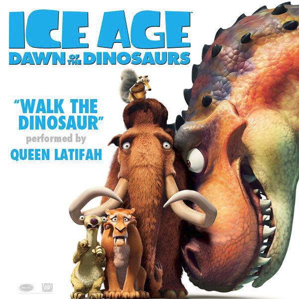 Walk The Dinosaur From Ice Age: Dawn Of The Dinosaurs