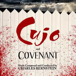Cujo / Covenant Original Soundtrack Recordings. Передняя обложка. Click to zoom.